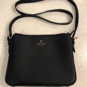 Small black Kate Spade purse
